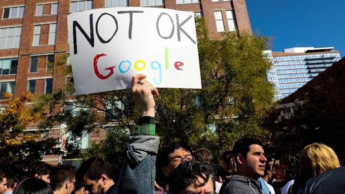Usai didemo karyawan, Google memperbarui kebijakan perusahaan terkait kasus pelecehan dan kekerasan seksual (Foto: Reuters)