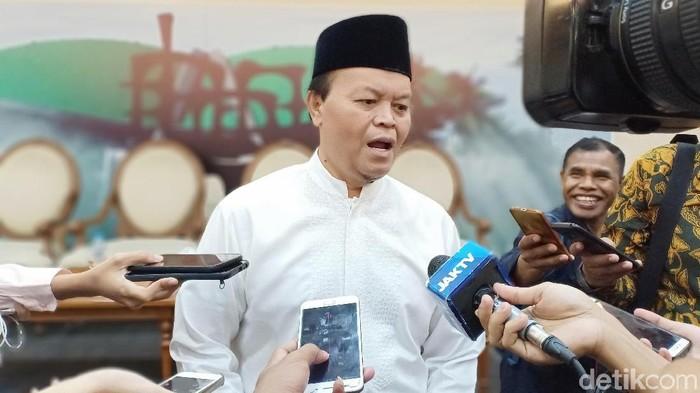 Hidayat Nur Wahid (Gibran Maulana Ibrahim/detikcom)