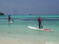 Bermain standup paddle