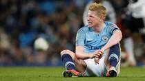 De Bruyne Bisa Absen Hingga Enam Pekan, Lewatkan Derby Manchester