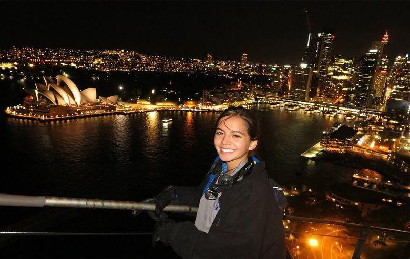 Ia pernah berkunjung ke Sydney, Australia juga lho! (isabelamoner/instagram)