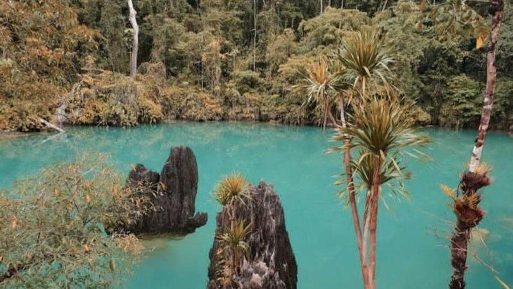 Yang Belum Kamu Tahu di Pulau Labengki, Laguna Mahulalangan
