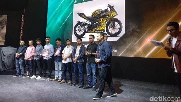 IMOS 2018: Jawara Kontes Modifikasi Digital Honda CBR250RR