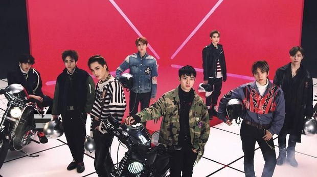EXO, 'Adik' Super Junior Pencetak Rekor Internasional