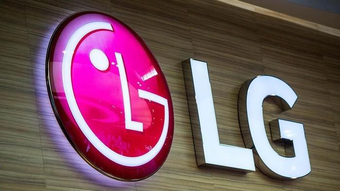 Logo LG. Foto: David Ramos/Getty Images