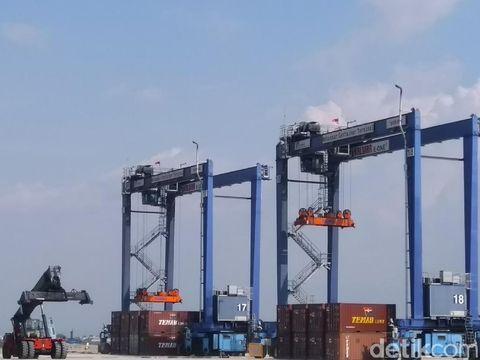 Makassar New Port tahap 1 A resmi beroperasi