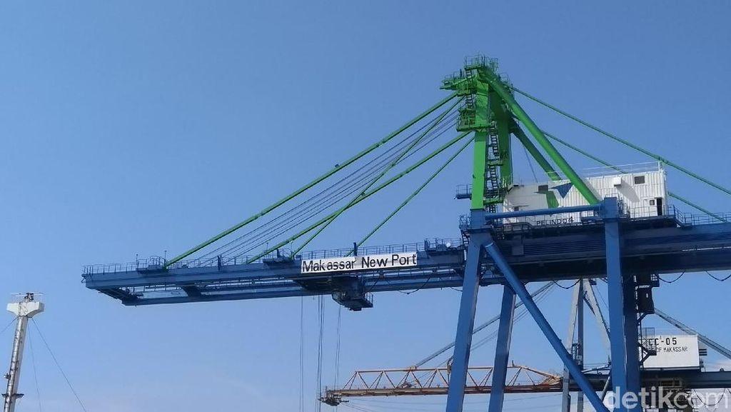 Makassar New Port I A Rp 2,5 Triliun Mulai Beroperasi