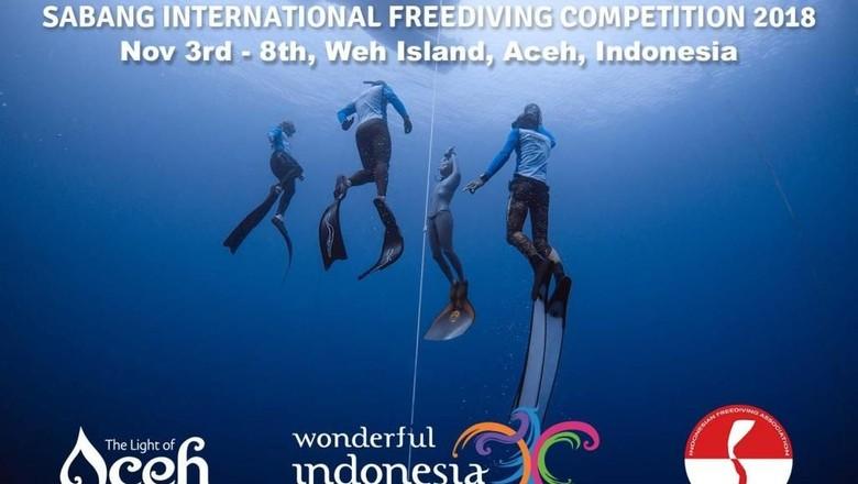 Sabang Internasional Freediving Competition (SIFC) 2018 (dok Disbudpar Aceh)