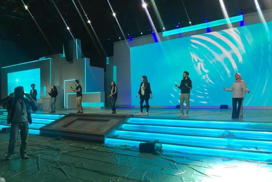 Melihat Gladi Resik Fatin untuk World Youth Forum di Mesir