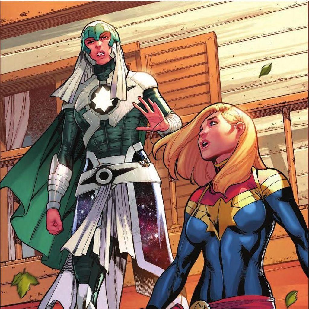 Seri Terakhir Komik Captain Marvel Ditunda Terbit, Ada Apa?