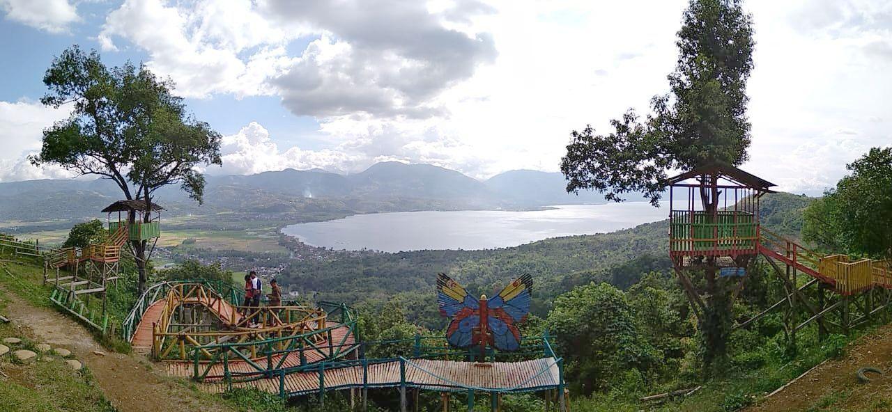 puncak gobah danau singkarak