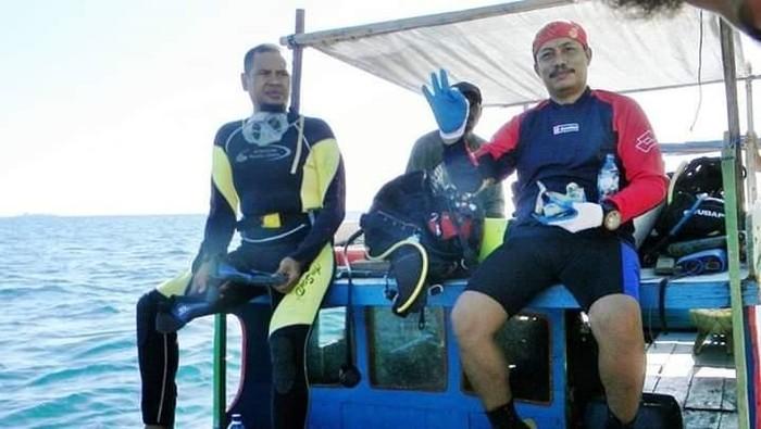 Foto: Syachrul Anto (kanan) semasa hidup. (istimewa)