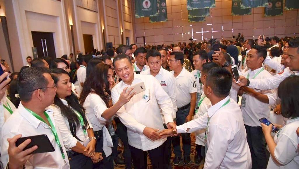 Bamsoet Jelaskan 6 langkah Perkuat Dukungan untuk Jokowi