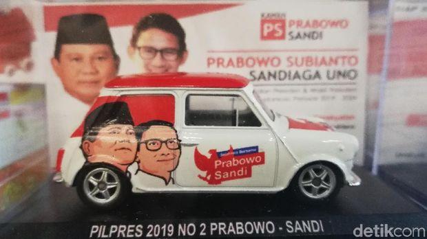 Diecast Prabowo-Sandi