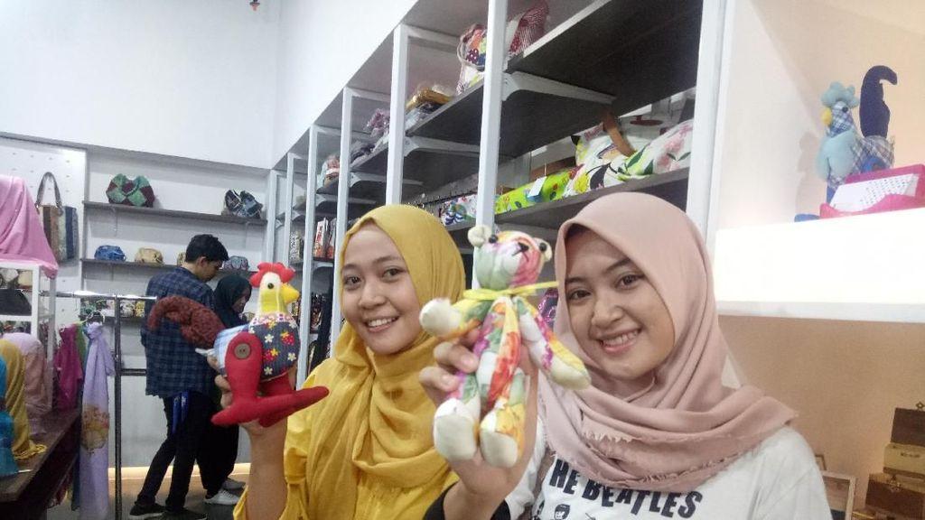 Deretan Produk UMKM Bandung Mejeng di Makassar