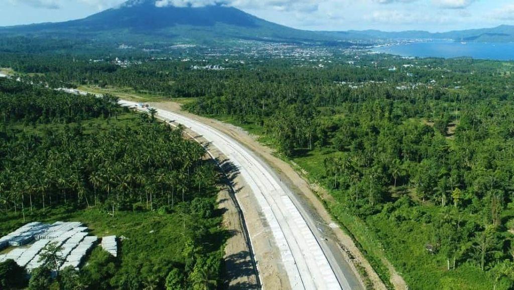 Libur Natal-Tahun Baru, Jalan Tol Manado-Bitung Dibuka Fungsional
