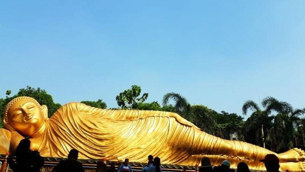 Sudah Lihat Budha Tidur di Mojokerto?