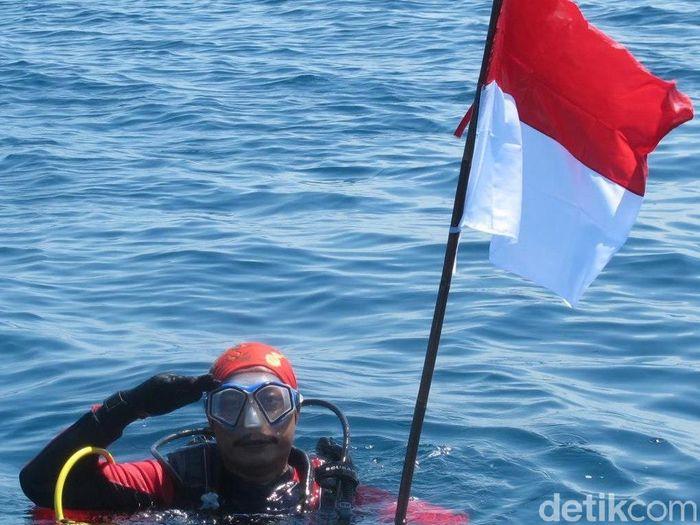 Penyelam Syachrul Anto/Foto: (Facebook Syachrul Anto)