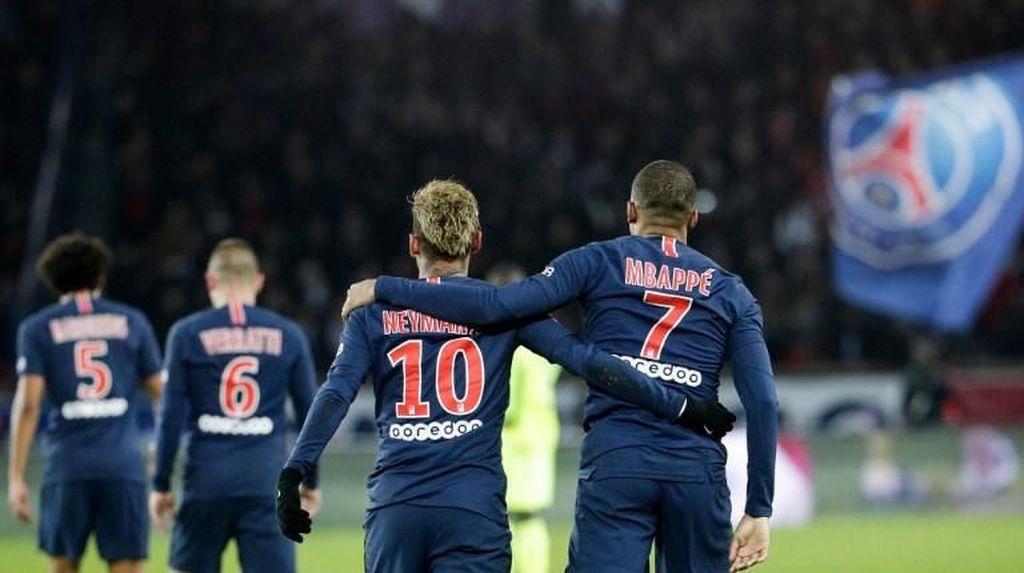 PSG Ciptakan Rekor Start di Lima Liga Terbaik Eropa
