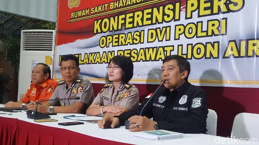 3 Jenazah Korban Lion Air Dikenali, Total 82 Teridentifikasi