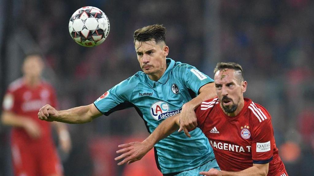 Hasil Liga Jerman: Bayern Ditahan Imbang Freiburg