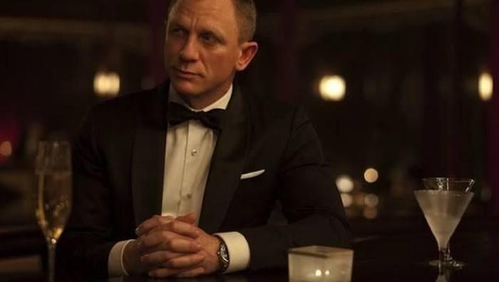Daniel Craig cedera engkel. Foto: Istimewa