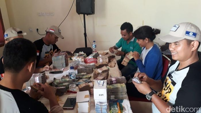 Foto: Kas keliling bank Indonesia/ Foto: Fadhly detikFinance