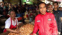 Jokowi: Jika Ada yang Bilang Harga di Pasar Mahal, Saya Protes