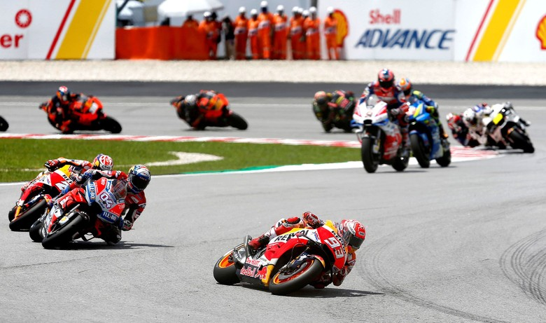 Ilustrasi MotoGP Foto: Reuters