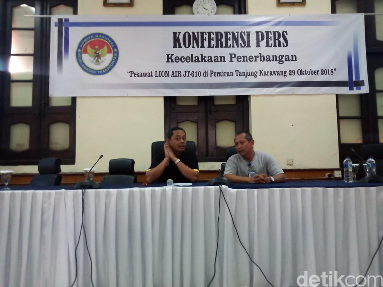 KNKT Komitmen Cepat Investigasi Lion Air PK-LQP, Dunia Menunggu
