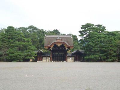Penampakan Istana Lama Kaisar Jepang di Kyoto