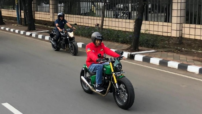 Gaya Jokowi Sunmori ke Pasar