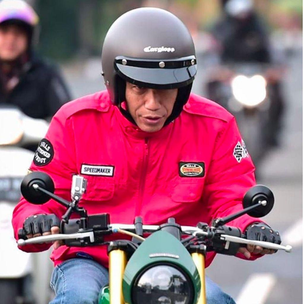 Dipakai Jokowi, Jualan Helm Retro Made In Indonesia Ini Meroket
