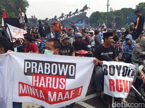 Bupati Boyolali: Serukan Sekuat Tenaga, Kita Takkan Pilih Prabowo