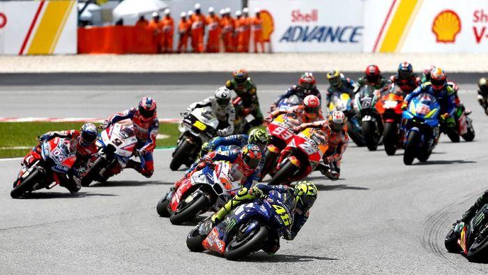 Peluang Indonesia menggelar MotoGP kembali terbuka sesudah bos Dorna tiba ke Mandalika (REUTERS/Lai Seng Sin)