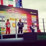 Pebalap RI Juara 3 Klasemen Balapan Ferrari Challenge Asia Pacific