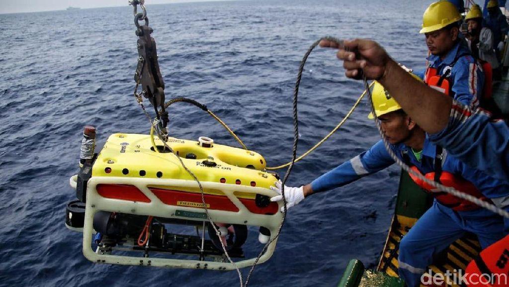 ROV Tetap Dipakai Cari CVR Sriwijaya, Basarnas: Efektif di Malam Hari
