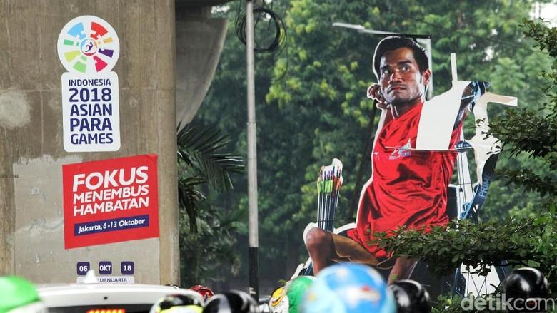 Trick Art 3D Asian Para Games Mulai Rusak