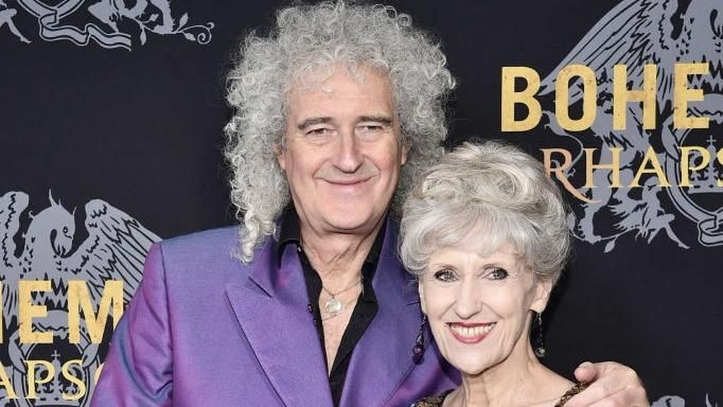 Ungkapan Syukur Brian May Queen di Ultah Pernikahannya