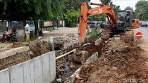 Ditargetkan Kelar Desember, Proyek Saluran Drainase Terus Dikebut