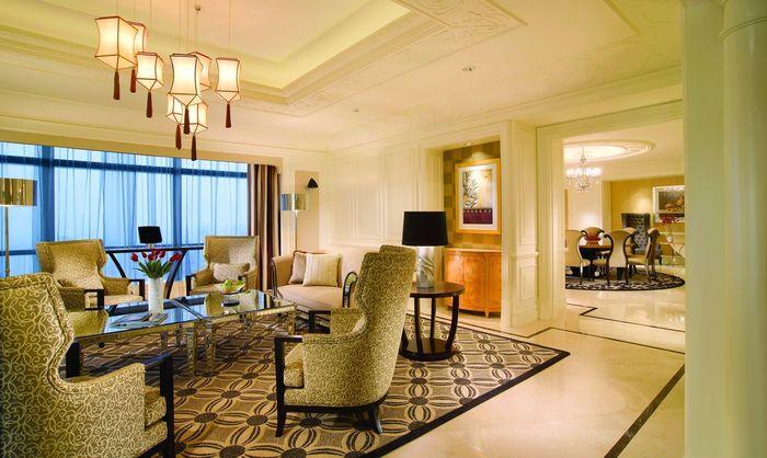 Ini adalah penampakan salah satu ruangan di Hotel Ritz Carlton Pacific Place di Jakarta. Hotel ini merupakan salah satu hotel mewah yang disebut Prabowo dalam pidatonya di Boyolali. Istimewa/Ritz Carlton Pacific Place.