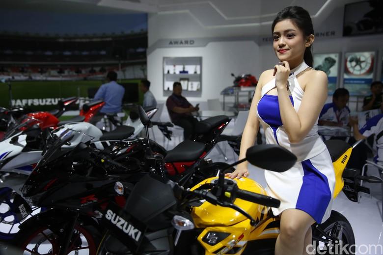 Motor Suzuki. Foto: Agung Pambudhy
