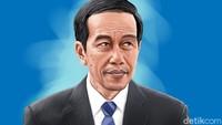 Jokowi: Kalau Dulu Lockdown Ekonomi Kita Bisa -17%
