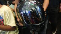 Helm Lokal Laris Manis di IMOS 2018, Habiskan Sampai Dua Truk