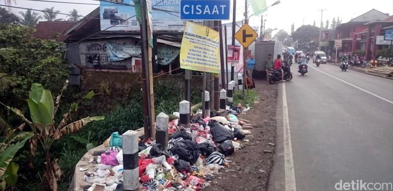 Buang Sampah Sembarangan di Sukabumi, Denda Rp 15 Juta Menanti