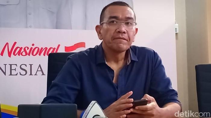 Jubir TKN Jokowi-Maruf Amin yang juga  Wakil Ketua DPP Perindo, Arya Sinulingga