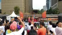 Begini Meriahnya Pesona Danau Toba di Car Free Day Jakarta