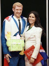 Figur Kue Terbaru Pangeran Harry dan Meghan Markle Hadir dengan Sentuhan Unik