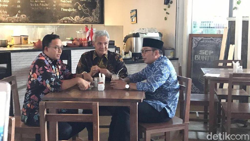 Anies dan RK Sepakat Jabodetabek Ditangani Khusus
