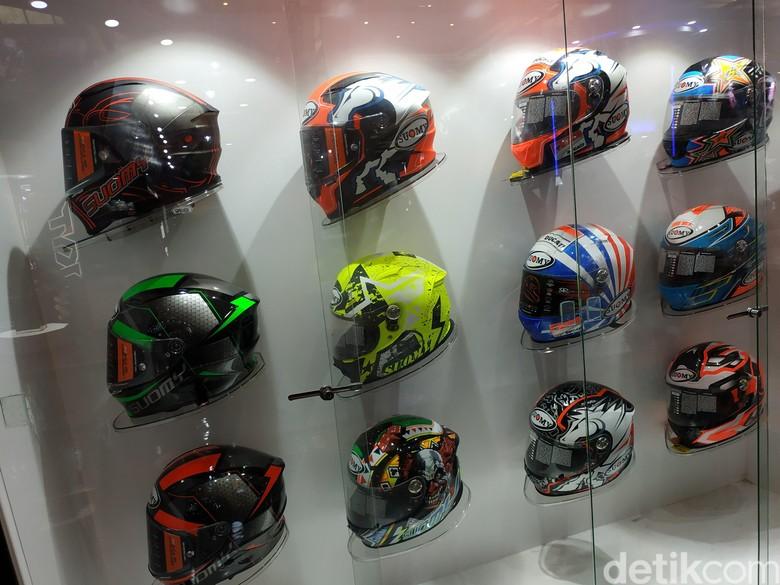 Helm. Foto: Ridwan Arifin/detikOto